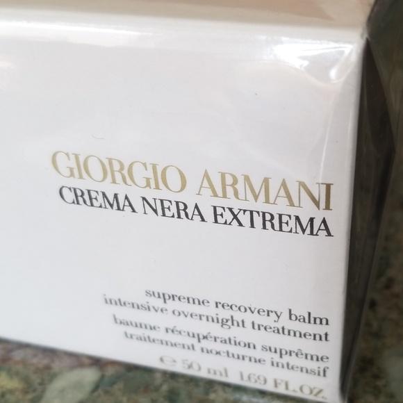 Giorgio Armani Other - GIORGIO ARMANI CREMA NERA SUPREME RECOVERY BALM